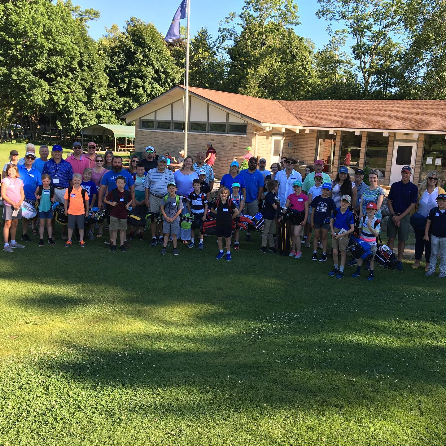 Junior Golf Group Picture